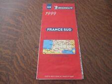 carte routiere michelin n° 919 1999 france sud