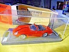 BEST MODEL 9003 DIECAST 1/43 - FERRARI 275 GTB/4 SPYDER ROSSA IN BOX ORIGINALE