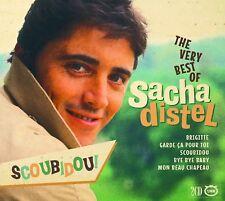 The Very Best of Sacha Distel 2 CD Set Brigitte Scoubidou Bye Bye Baby + More