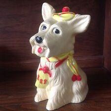 "Vintage Scottie Dog Cellulite Piggy Bank 12"" Tall Scotch Terrier"