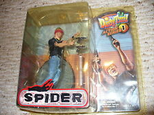 Dusty Trail Toys, Action Series 1, Spider villian , figure playset, dated 2003