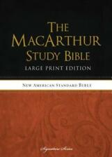 MacArthur Study Bible-NASB-Large Print by Thomas Nelson: New