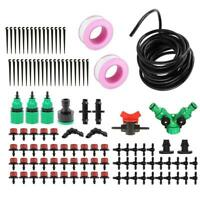 DIY Dripper Plant Self Watering Garden Hose Micro Drip Irrigation System Kit