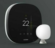 NEW ecobee SmartThermostat Pro with voice control and SmartSensor (one included)