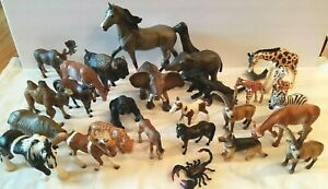 Schleich Germany Lot 26 Retired Animal Figurines 2005 2006 Breyer Horse + others