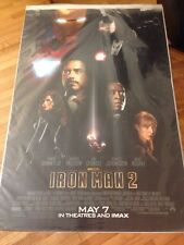 IRONMAN 2 original one sheet movie poster 2010 MARVEL teaser, double sided
