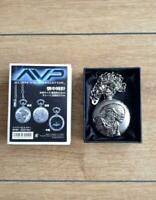 Alien vs. Predator AVP pocket watch limited edition w/box movement battery