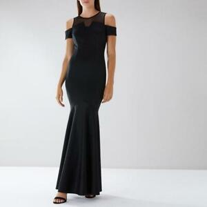 Coast - Lorna Fishtail Maxi Dress- (Black) - (Size 22) - (Brand New With Tags)