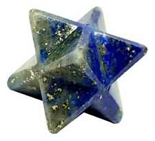 Lapis Lazuli Merkaba Star Reiki Energy Charged Natural Crystal Chakra Healing
