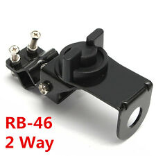 HOT B-46 Mobile Vehicle Antenna Mount Bracket Stainless Steel Black 2 way Radio