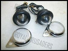 NEW CLEAR PILOT LIGHTS SUITABLE FOR ROYAL ENFIELD (code 1826)