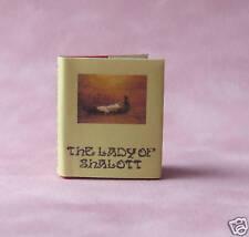 Dollshouse Miniature Book - Lady of Shalott