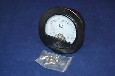 DC 0-30uA Round Analog Ammeter Panel AMP Current Meter Dia. 90mm Direct Connect