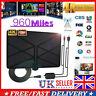 Antenna TV Digital HD 960 Mile Range Skywire Indoor 1080P 4K Aerial Amplified—UK