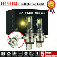 H4 LED Headlight Kits 110W 20000LM FOG Light Bulbs 3000K Driving DRL Lamp Yellow