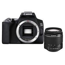 Canon EOS 250D 24.1MP Fotocamera Reflex Digitale (Kit con EF-S 18-55 mm f/3.5-5.6 III Obiettivo) - Nera (3454C003)