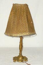Alte Messing Tischlampe Lampe Historismus Jugendstil Gründerzeit Lampen lamp ALT