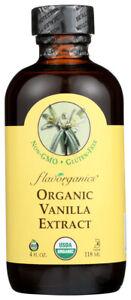 Flavorganics Organic Vanilla Extract 4 oz
