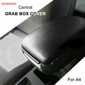 Fits Audi A4 B6 B7 Car Armrest Center Console Lid Cover Black 8E0864245E 01-08