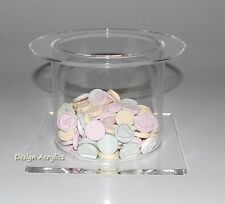 SINGLE ACRYLIC CAKE SEPARATOR STAND WEDDING DISPLAY