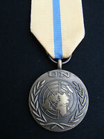 BRITISH ARMY,PARA,SAS,RAF,RM,SBS, UN Military Medal+Ribbon IRAQ/KUWAIT GULF WAR