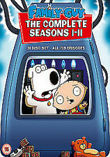 Family Guy - Series 1-11 - Complete (DVD, 2011, 31-Disc Set, Box Set)