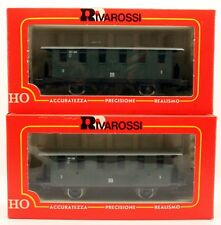 2 ASSORTED HO RIVAROSSI COACHES 4K