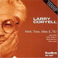 Larry Coryell - Monk Trane Miles & Me [New CD]