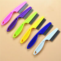 6pcs Pet Dog Cat Beauty Tools Grooming Comb Hair Brush Shedding Lice Trimmer