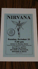 Nirvana - October 31st 1993 - James A Rhodes Arena (Blue Flyer)