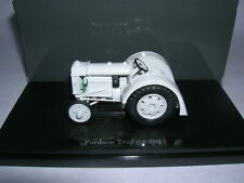 Dongguan Tractor Fordson Year 1921 Grey White Grey Tractor Tractor, 1:43
