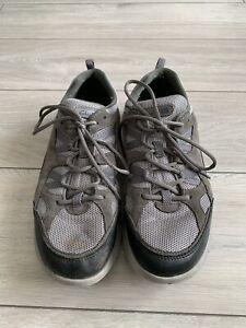 02 Clarks Wave Walk Men's Grey Trainers Size UK 10.5G