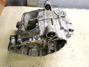 07 Honda FSC600 A FSC 600 ABS Silverwing engine crank case cases block bottom
