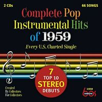 Various Artists - Complete Pop Instrumental Hits Of 1959 / Var [New CD]