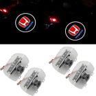 4PCS LED Car Courtesy Door Logo Light Ghost Shadow Laser Projector for Honda