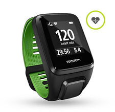 TomTom Runner 3 Cardio - Built in HRM -  Multi Sport  - Black/Green  - SML