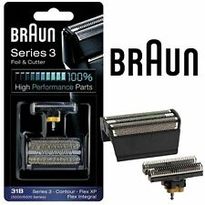New Mens Braun 31B Replacement Foil & Cutter Head Combi Pack 5000 6000 Series