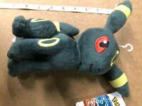 "Pokemon Umbreon Eevee Evolution Plush Stuffed Animal Toy 8"" Kids Gift NY Seller"