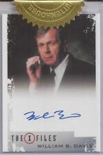 William B. Davis as Cigarette Smoking Man Autograph Card - The X-Files Archives