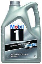 MOBIL 1 5W50 Rally Formula 5L FS-X1 lubricante 100%%SINTÉTICO,A3/B3/B4 SN/SM