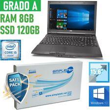 "NOTEBOOK NEC VERSAPRO I5 15,6"" 8GB 120GB SSD RS232 WINDOWS 10 TASTIERA ITA-"