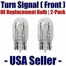 Front Turn Signal/Blinker Light Bulb 2pk - Fits Listed Nissan Vehicles - 7443
