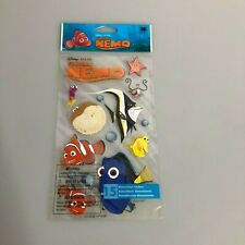 Disney Finding Nemo Scrapbook Sticker Sheet Lot Dory Marlin Bloat Gill Bubbles