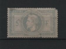 """FRANCE STAMP TIMBRE YVERT N° 33 """" NAPOLEON III 5F VIOLET GRIS """" NEUF A VOIR T129"""