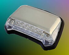 LED Rear Light Chrome Honda VT 600 750 1100 Shadow Widow Position Lamps Tail