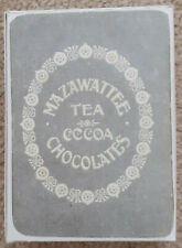 """More details for mazawattee tea co. """"our kings and queens"""" card game, c.1901"""
