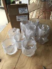 8 PCS US Acrylic Drinkware Classic 12 Ounce/ 16 Ounce Tumlers Clear