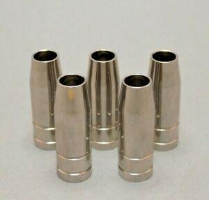 5x Gasdüse konisch NW Ø 12,0 mm für Brenner Binzel MB14 / MB15 TBI 150 MIG MAG