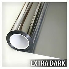 Privacy Film For Glass Windows Mirror Tint Reflection 36 In X 12 ft EXTRA DARK S
