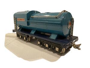 LIONEL LINE CLASSIC TRAIN-BLUE COMET 400T OIL TENDER-STANDARD GAUGE DISPLAY 400E
